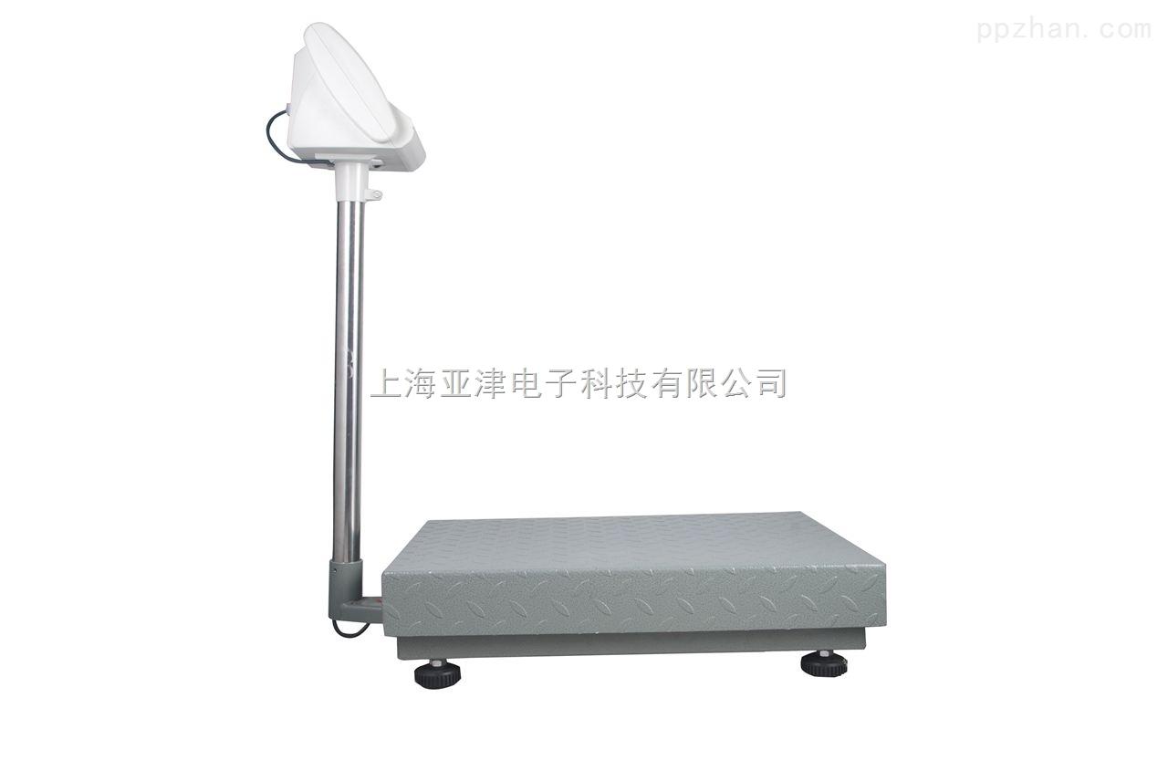 【亚津】碳钢光面电子台秤100kg