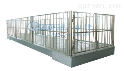 0.5吨上海地磅不锈钢牲畜秤