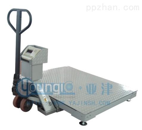 1吨带叉车移动上海地磅