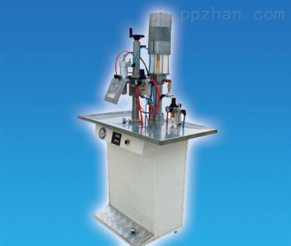 供应喷雾剂灌装旋盖机 塑料瓶泵头 气雾剂灌装机