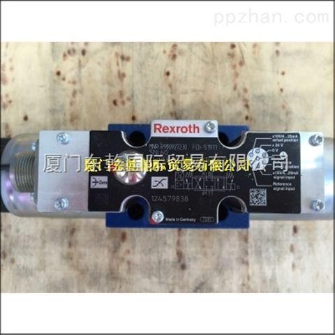 力士乐原装比例阀4WREE10W1-50-2X G24K31 A1V