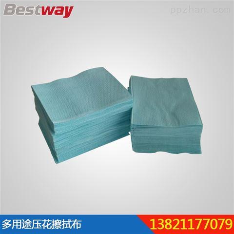 百仕维多用途压花擦拭布吸油吸水不掉毛工业擦拭布