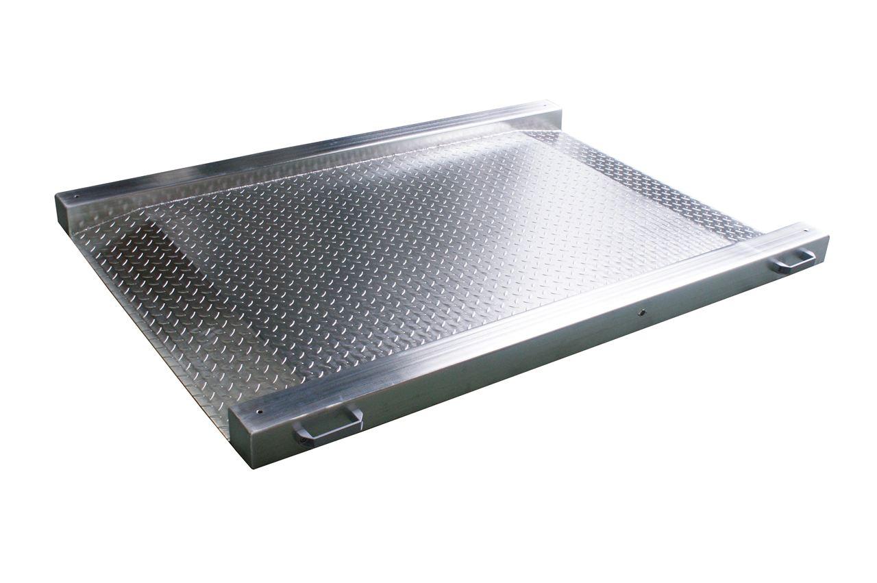 【亚津】超低不锈钢地磅 防水电子地磅 工厂地磅