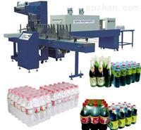 供应全自动包裹机 PE膜热收缩裹包机、矿泉水PE膜集中包装生产线